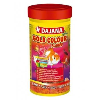 Dajana / Даяна Корм для рыб GOLD COLOUR FLAKES хлопья 100мл DP004A
