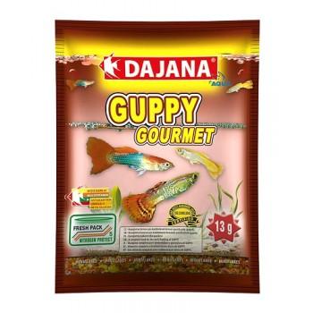 Dajana / Даяна Корм для рыб GUPPY GOURMET FLAKES хлопья 80мл DP003S