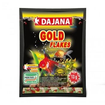Dajana / Даяна Корм для рыб GOLD FLAKES хлопья 80мл DP001S