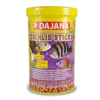 Dajana / Даяна Корм для рыб CICHLID STICKS палочки 1000мл DP111D