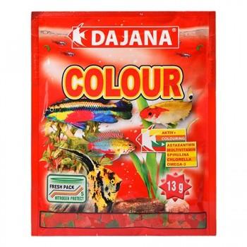 Dajana / Даяна Корм для рыб COLOUR FLAKES хлопья 80мл DP002S
