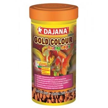 Dajana / Даяна Корм для рыб GOLD COLOUR FLOATING CHIPS чипсы 100мл DP110A