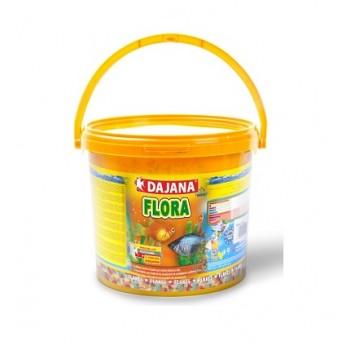 Dajana / Даяна Корм для рыб FLORA FLAKES хлопья 10000мл, ведро (10л/2кг) DP006G
