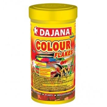 Dajana / Даяна Корм для рыб COLOUR FLAKES хлопья 100мл DP002A