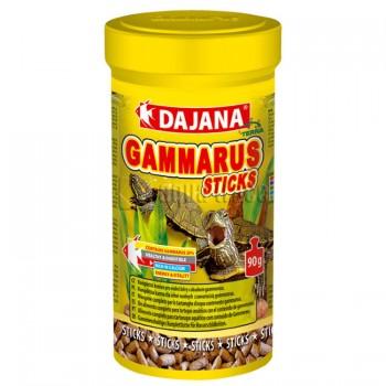 Dajana / Даяна Корм для черепах водных GAMMARUS STICKS палочки 250мл DP153B