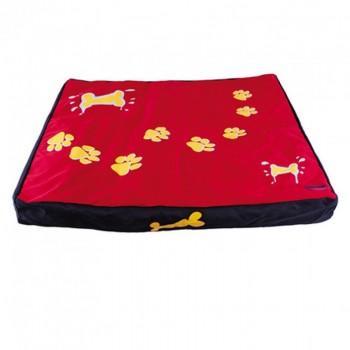 Dezzie / Деззи Лежак-коврик красный с лапами, 120*90*10см