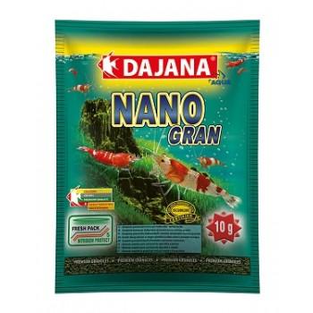 Dajana / Даяна Корм для крабов, креветок NANO GRAN гранулы 80мл DP114S