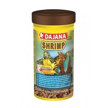 Dajana / Даяна Корм для рептилий SHRIMP сушеные креветки 100мл DP208A