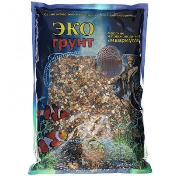 Эко Грунт галька КАСПИЙ № 1 (2-4 мм) 1 кг