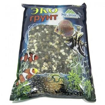 Эко Грунт галька РЕЛИКТОВАЯ № 2 (4-8 мм) 1 кг