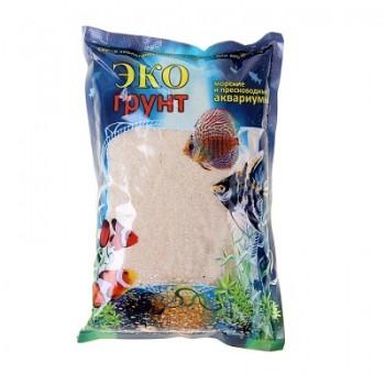 Эко Грунт кварцевый песок БЕЛЫЙ (0,3-0,9 мм) 3,5 кг