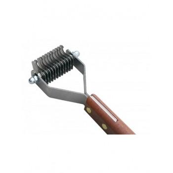 Show Tech стриппинг 12 ножей с деревянной ручкой для мягкой шерсти