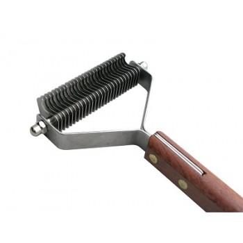 Show Tech стриппинг 27 ножей с деревянной ручкой для очень мягкой шерсти