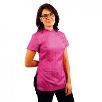 Tikima Elba L Hot Pink Shirt рубашка с коротким рукавом цвет ярко-розовый р.L