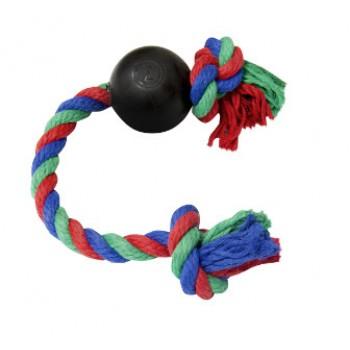 Зооник 16475 Мяч резиновый на веревке
