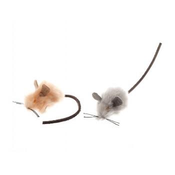 Зооник 164148 Игрушка мышь меховая 4,5см (10шт)