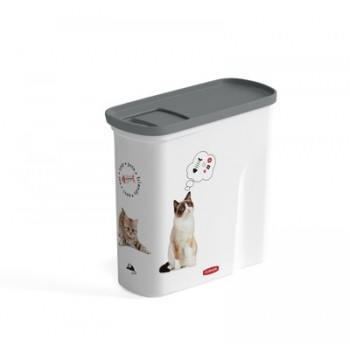 """Curver PetLife / Курвер ПетЛайф Контейнер для корма """"Любимые котята"""" на 2 л, 21х9х19 см"""