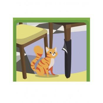 Антицарапки Когтеточка-столбик на ножку стола