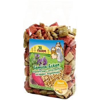 JR Farm 05593 Подушечки из овощей д/грызунов, 100 гр