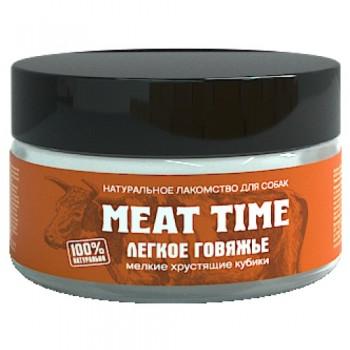 Meat Time / Мит тайм Легкое говяжье Хрустящие кубики мелкие, 30 гр