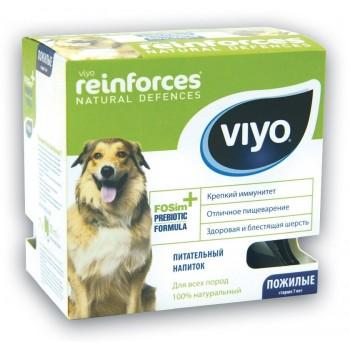 VIYO Reinforces Dog Senior пребиотический напиток для пожилых собак 7х30 мл