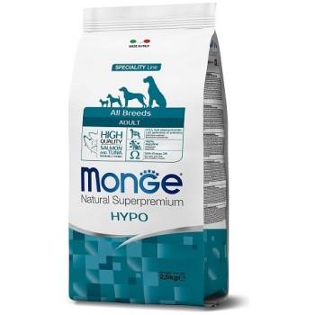Monge / Монж Dog Speciality Hypoallergenic корм для собакгипоаллергенный лосось с тунцом 2,5 кг