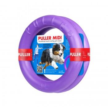 PULLER / ПУЛЛЕР 6488 Midi Тренировочный снаряд д/собак 20см*2шт, фиолетовый