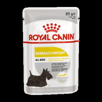 Royal Canin / Роял Канин Dermacomfort паштет д/собак с чувств. кожей, 85 гр