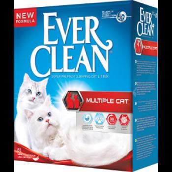 Ever Clean Multiple Cat Наполнитель для нескольких кошек 10 кг