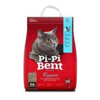 """Pi-Pi Bent / Пи-Пи Бент наполнитель комкующийся для туалета кошек  """"Классик"""", 24 л"""
