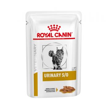 Royal Canin / Роял Канин VD Urinary S/O для кошек при мочекаменной болезни ПАУЧ соус, 85 гр
