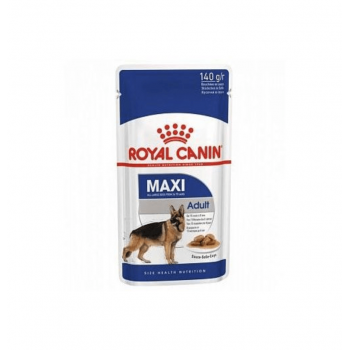 Royal Canin / Роял Канин Maxi Adult корм для собак крупных пород с 10 месяцев до 8 лет (соус), 140 гр